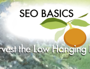 SEO basics - low hanging fruit