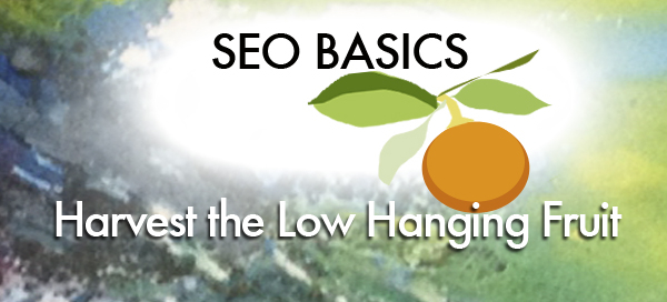 SEO basics - low hanging fruit